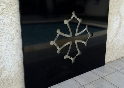 cadre croix du languedoc