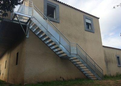 escalier d'extérieur galvanisé Agde