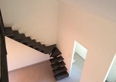 escalier quart tournant marche métal