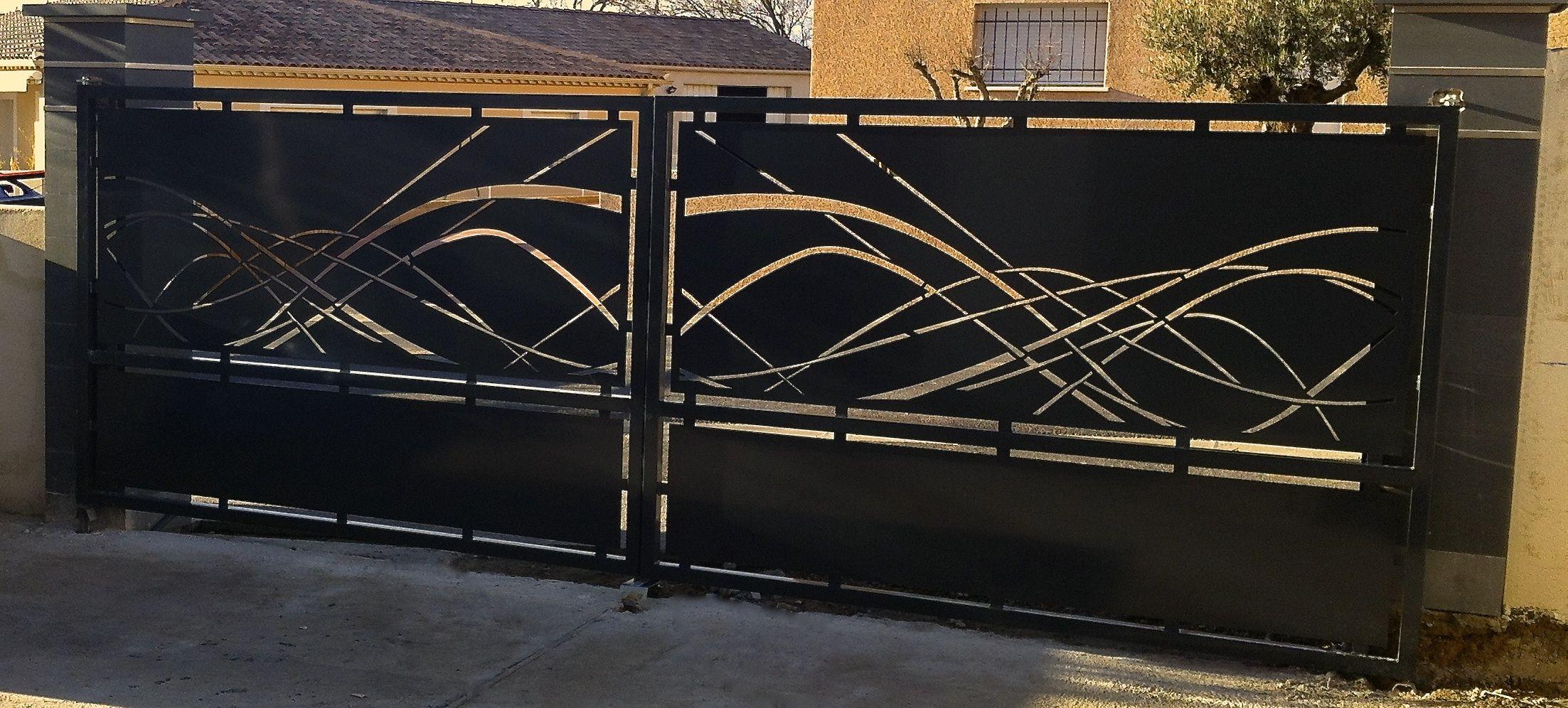 decoupe laser portail yp97 humatraffin. Black Bedroom Furniture Sets. Home Design Ideas